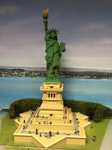 Legoland Statue of Liberty