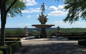 Statue at Kykuit