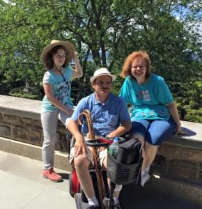 De Louise Family at Kykuit