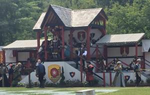 Human Chessboard Area at NY Renaissance Faire