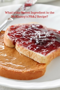 What's the Secret Ingredient in the McKinney's PB&J Recipe-