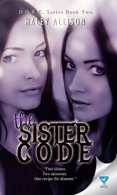 Debbie page 25 ruff drafts cover reveal the sister code by haley allison fandeluxe Image collections