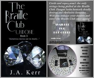 The Braille Club Undone Cover